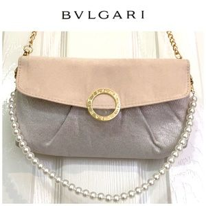 Bvlgari gold new clutch/evening bag 🤩